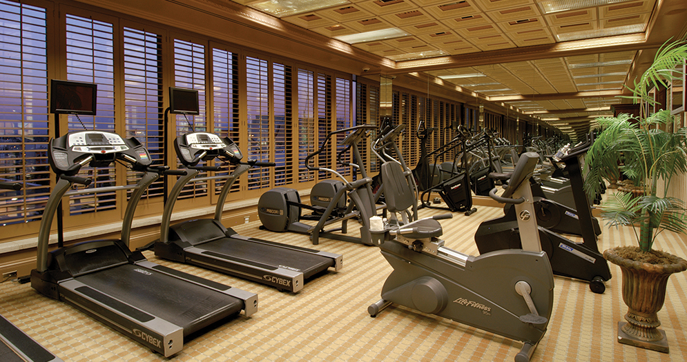 Gym at the Golden Nugget