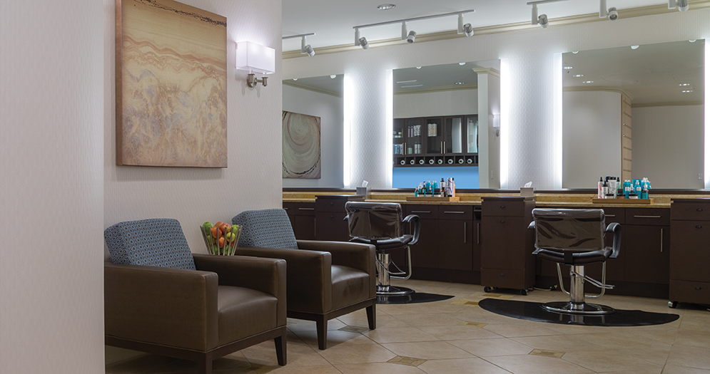 Salon at the Golden Nugget