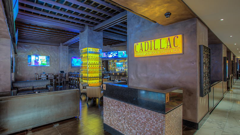 Cadillac Mexican Tequila Golden Nugget Las Vegas