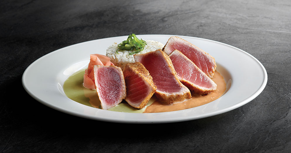 Chart House Spiced Ahi