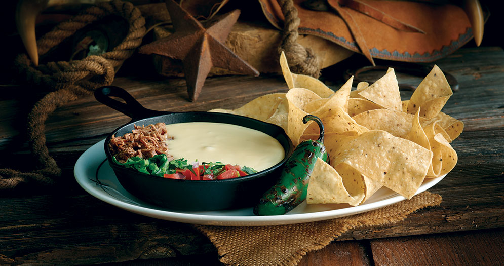 Saltgrass Chips Queso