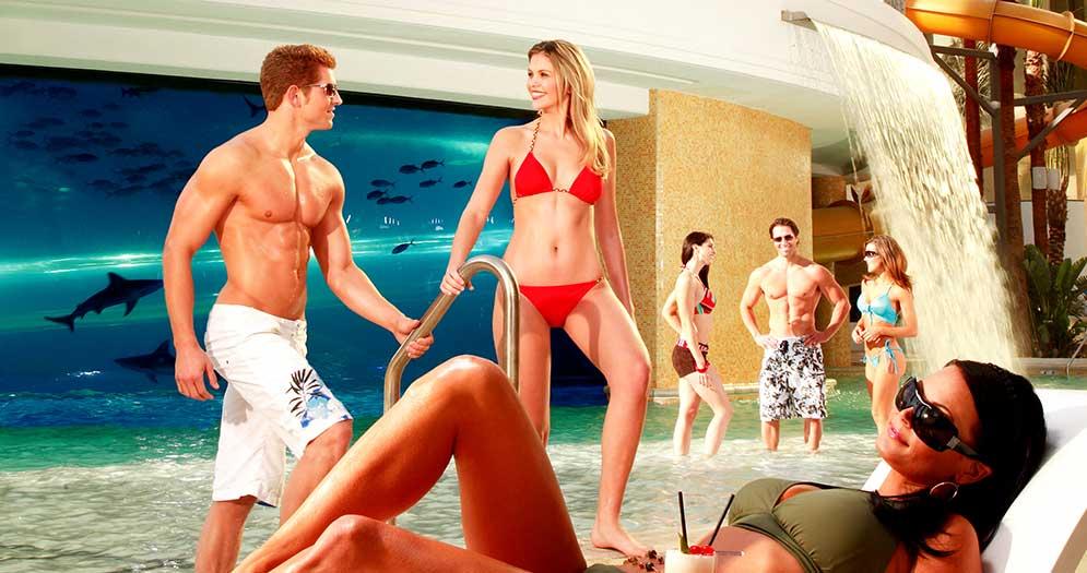 Pool Cabanas Golden Nugget Las Vegas