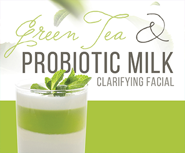 Green Tea Probiotic Milk Clarifying Facial