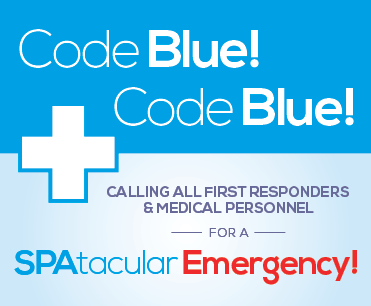 Code Blue - First Responders Spa Special
