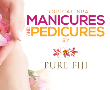 Tropical Spa Manicures and Pedicures by Pure Fiji