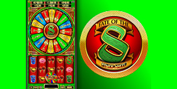 Fate of the 8 Power Wheel Slot Machine