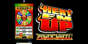 Heat Em Up Power Wheel Slot  Machine