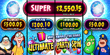 Jackpot Ultimate Party Spin