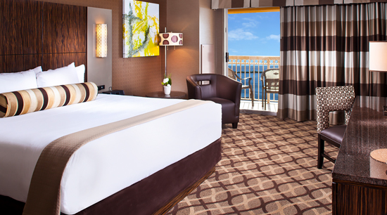 Book A Balcony Terrace King Room Golden Nugget Biloxi