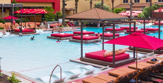 H20 Pool Daybed Rush Tower
