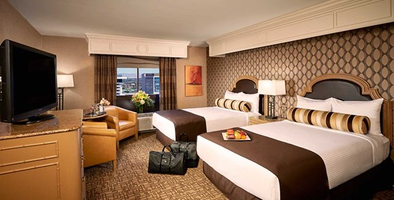 carson Tower Premium Double Room - Golden Nugget Las Vegas
