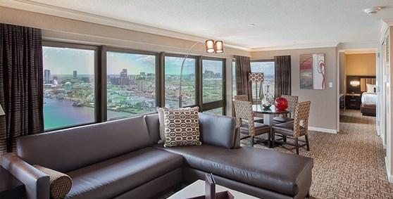 Marina SuiteBook Hotel Rooms   Golden Nugget Atlantic City. 2 Bedroom Suite Golden Nugget Atlantic City. Home Design Ideas