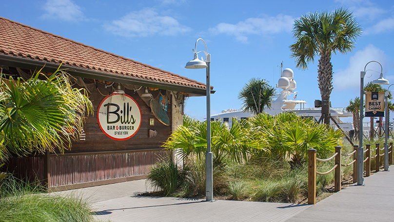 Bill's Bar & Burger Golden Nugget Lake Charles