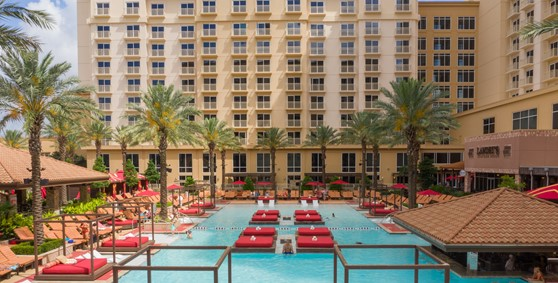 H20 Bar and Grille Pool Rush Tower