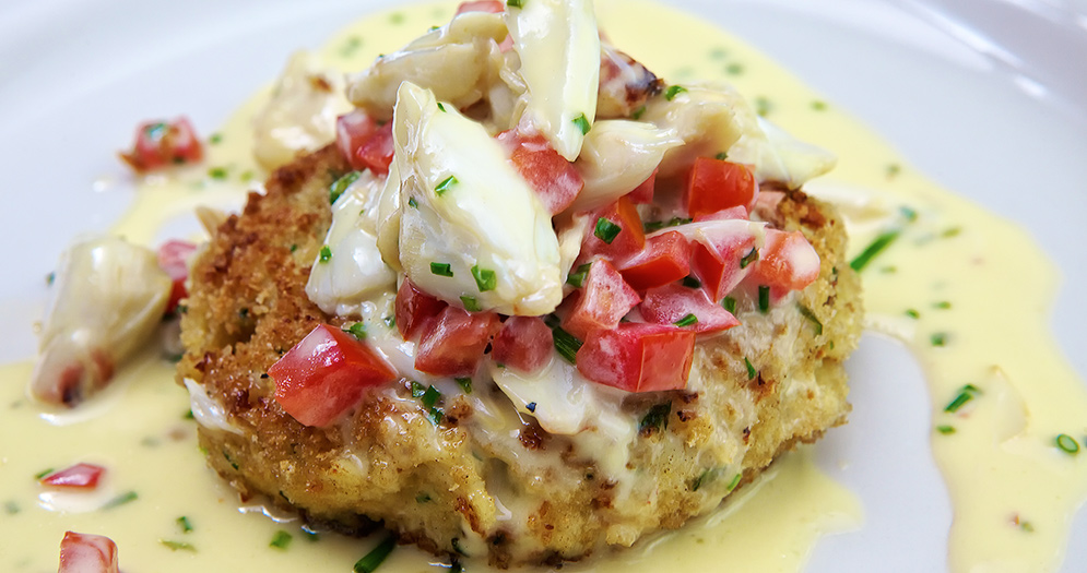 Vic and Anthony Crab Cake