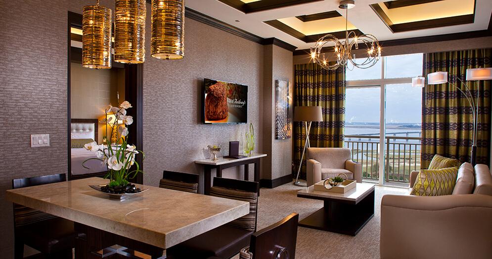Golden Nugget Hotel Parlor Suite Golden Nugget Lake Charles