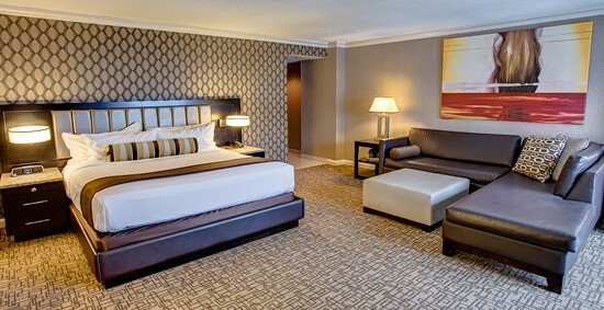 One king bed suite | Golden Nugget Atlantic City