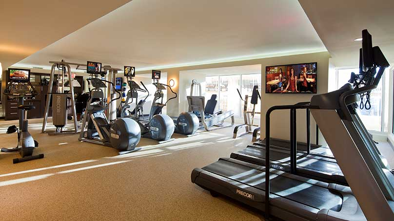 Fitness center gym golden nugget las vegas