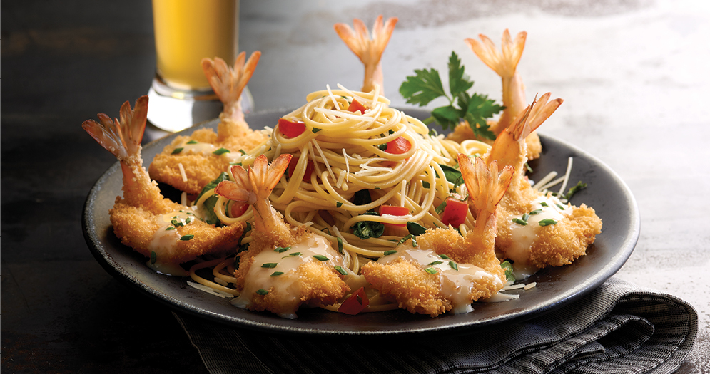 Claim Jumper Shrimp Pasta
