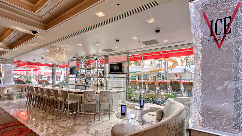 Step Out Of Nevada S Heat And Into A Refreshing Experience At Las Vegas Ice Bar Located On Fremon Street This Intimate Offers Up Cool Sleek