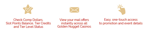 Golden Nugget Lake Charles Mobile App Benefits
