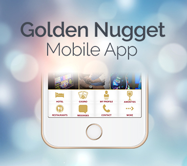Golden Nugget Mobile App Teaser