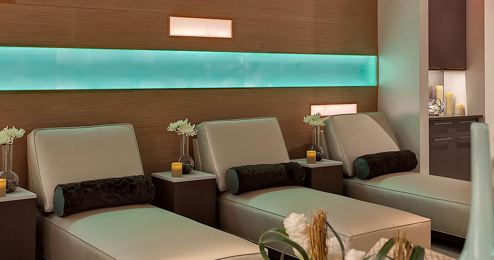Spa Lounging Area