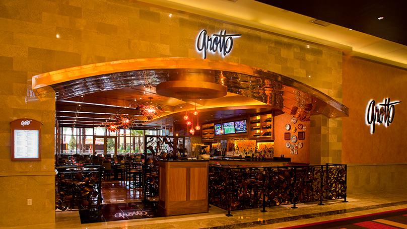 Grotto Italian Restaurant Golden Nugget Lake Charles