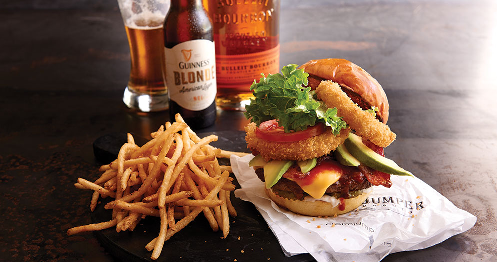 Claim Jumper Burger