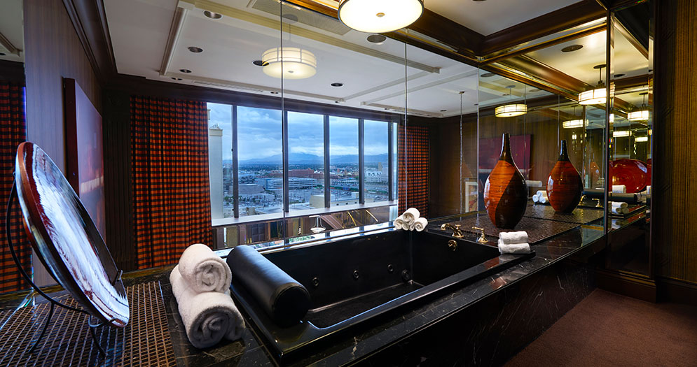 Bathroom of Spa Suite