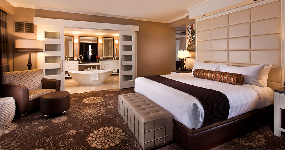 Iconic Vegas Ambiance With Luxurious, Modern Feel