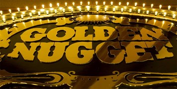 Golden nugget Sign