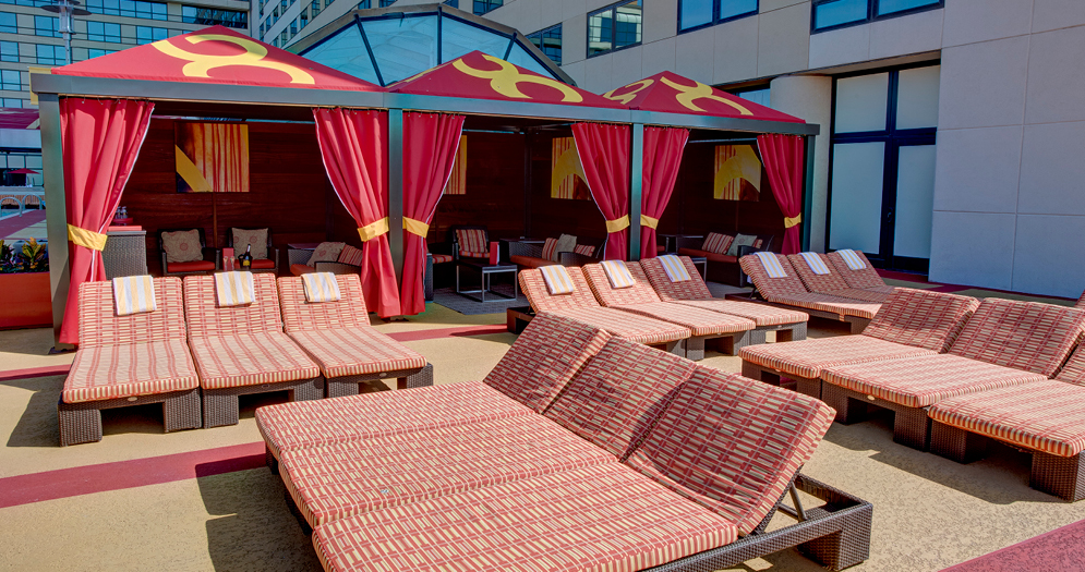 atlantic city pool party, hotel pools near me, pool cabana