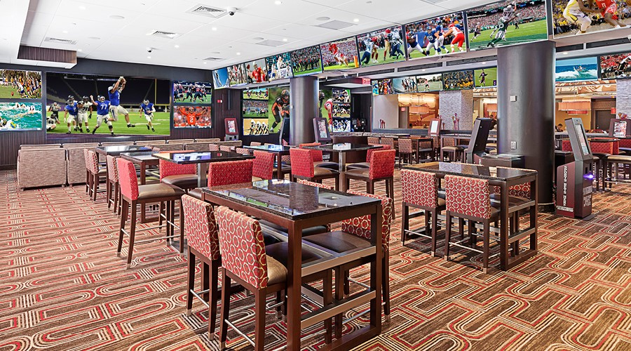 Sports betting lounge Atlantic City