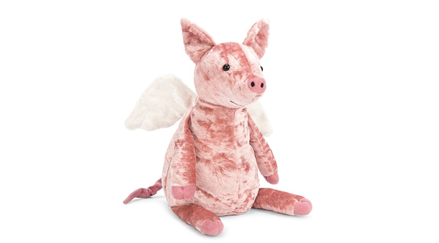 Jelly Cat Flying Pig Plushie