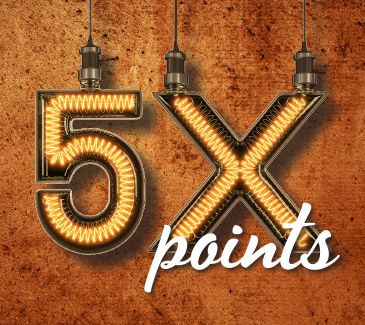 5x Points Feb 2019