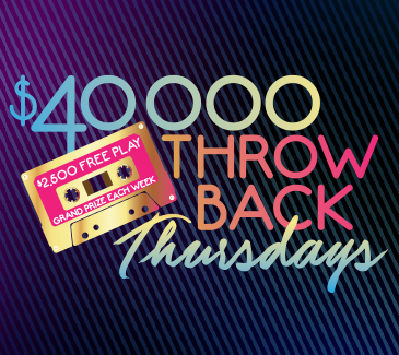 $40,000 Throwback Thursdays