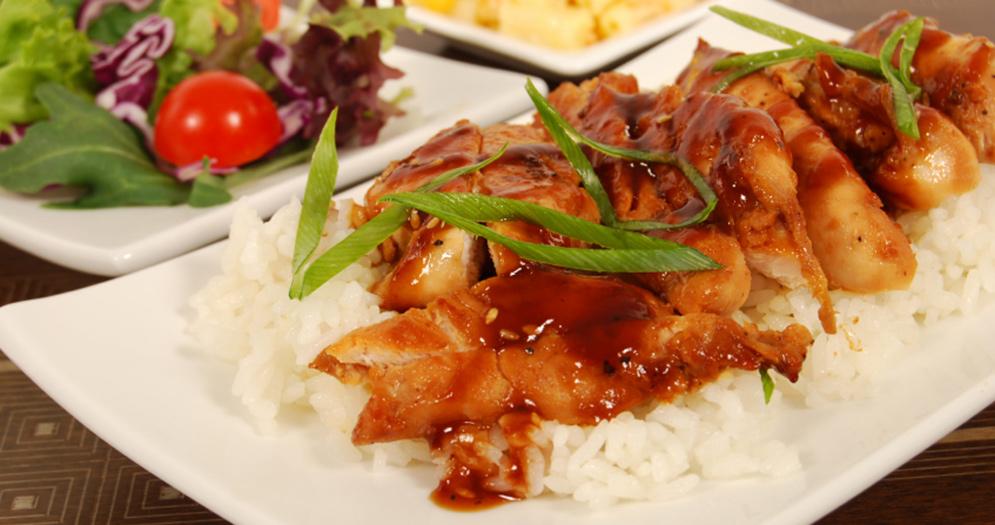 Рис с курицей терияки рецепт с фото
