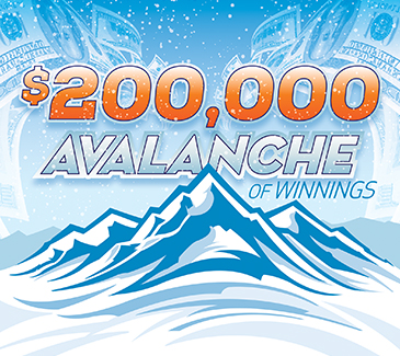 $200,000 Avalanche of Winnings