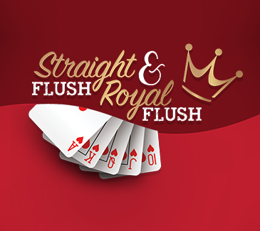 Royal Flush and Straight Flush Promotion