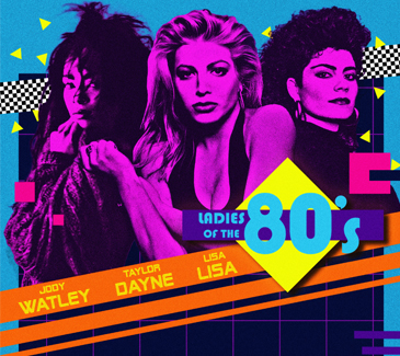 Ladies of the 80's featuring Taylor Dayne, Jody Watley and Lisa Lisa