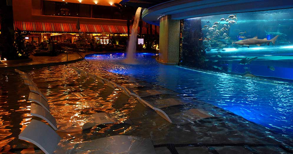 Pool at Golden Nugget Las Vegas