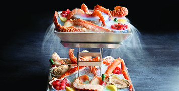 Seafood Tower at the Chart House