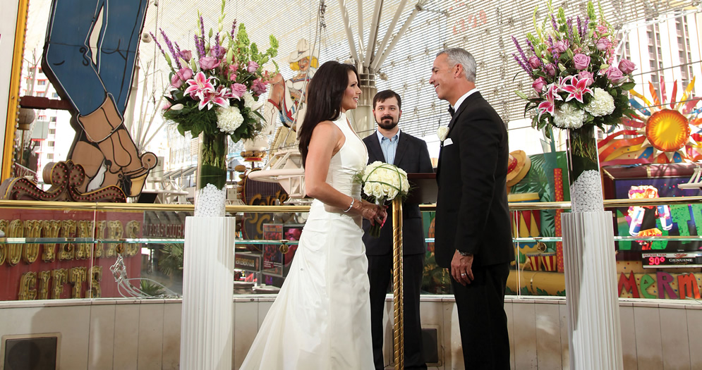 Las Vegas Wedding Venues Golden Nugget Las Vegas