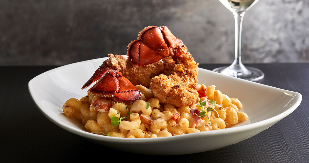 Lobster Mac and Cheese at Vic and Anthony's Las Vegas