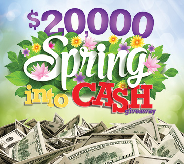 Spring Into Cash Giveaway at the Golden Nugget Casino in Laughlin, NV