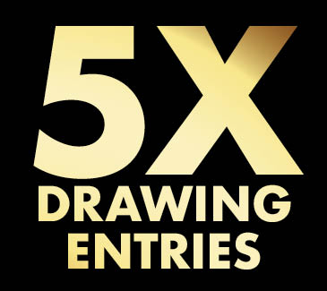 5X Drawing Entries