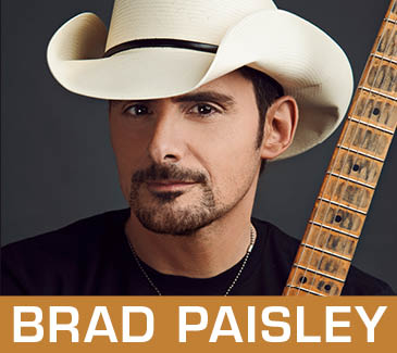 Brad Paisley Laughlin Concert Tickets